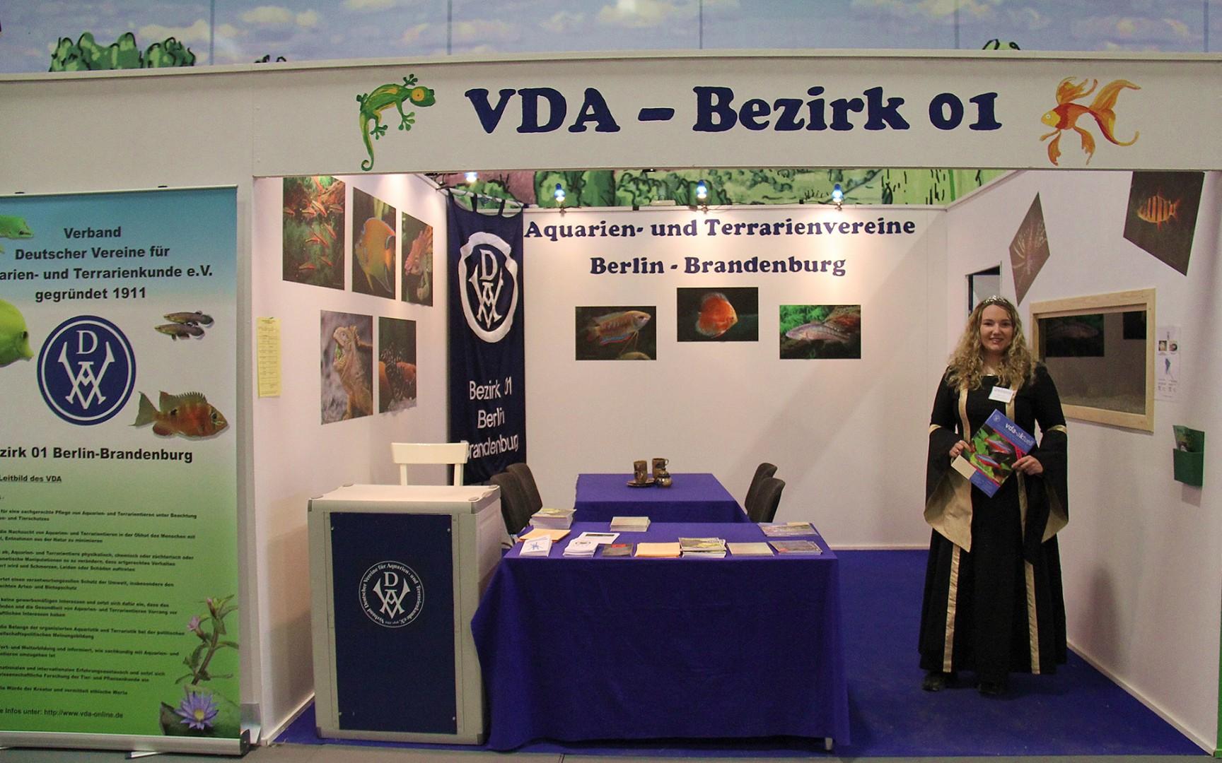 VDA Stand auf der grünen Woche 2015