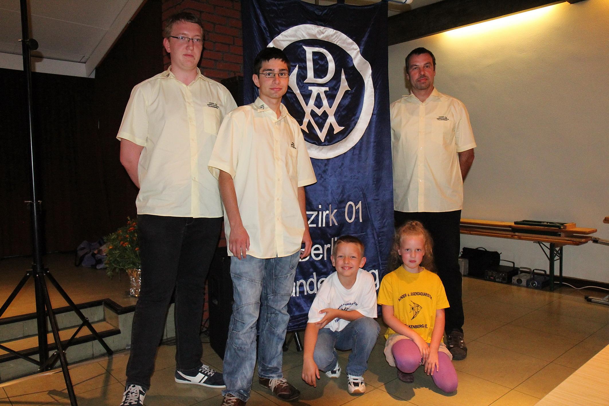 Bezirkstag 2012 – Neu im Bezirk: Mitglieder der Jugendgruppe Falkenberg