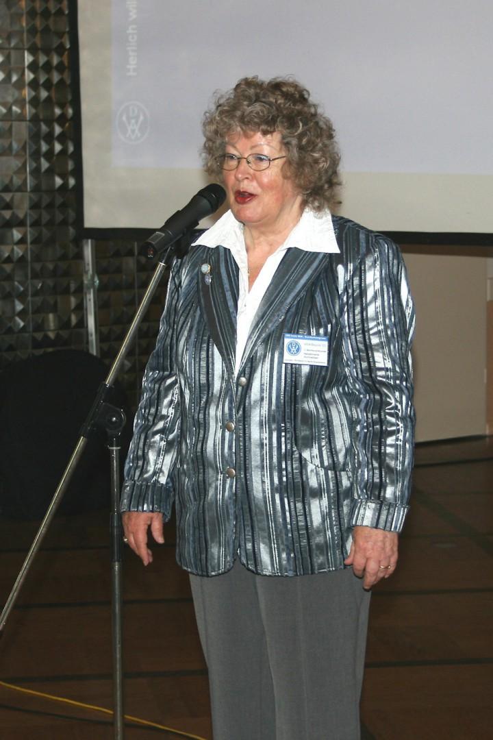 Schreiber, Heidemarie 03,  2011-05-07 VDA_Kongress Bln., Foto Dr. D. Hohl